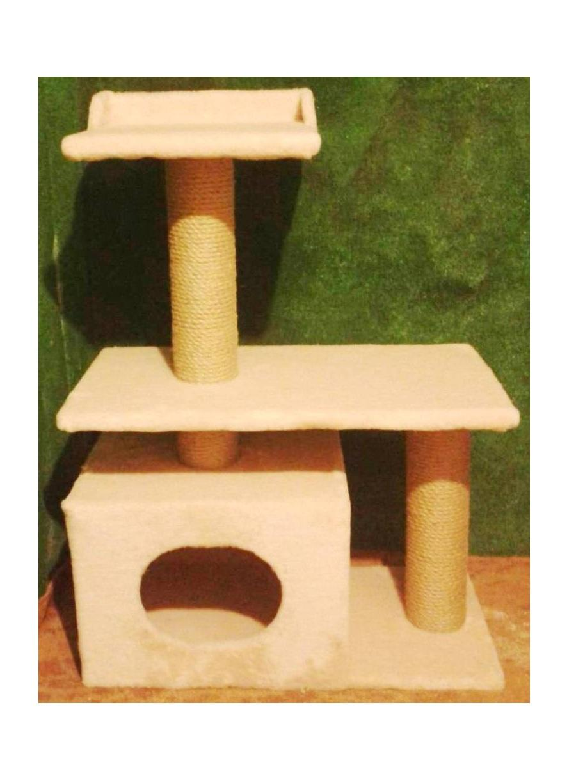 Домики для кота своими руками схема